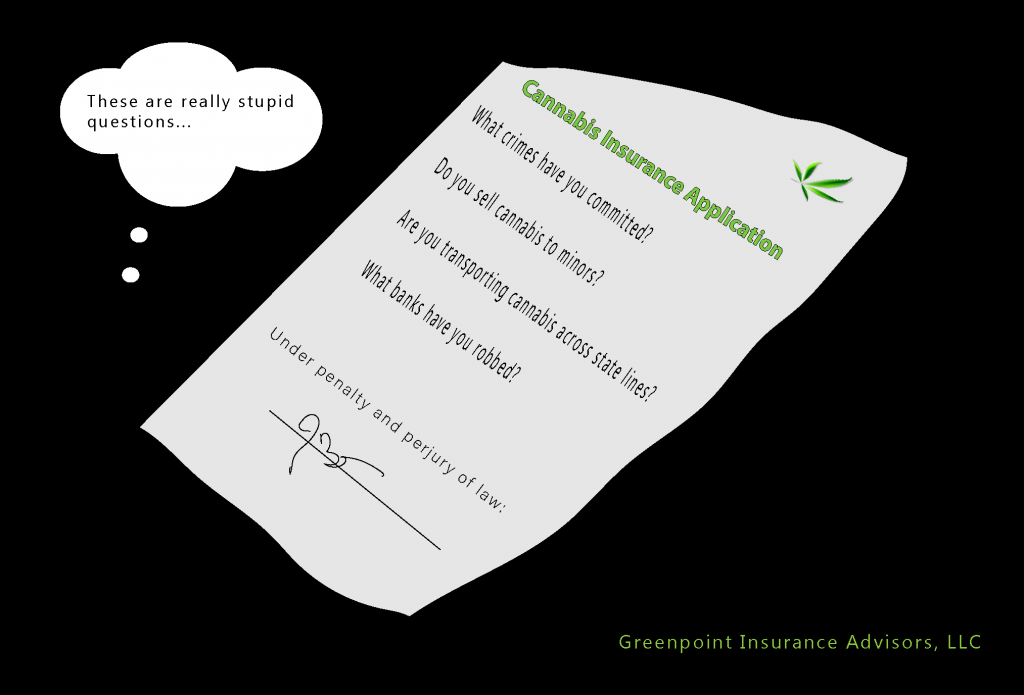 Cannabis Insurance Application